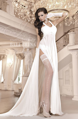 Ballerina 253 Hold Up Avorio (Ivory)