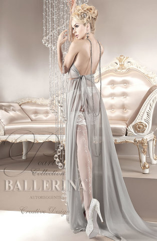 Ballerina 123 Hold Up Bianco (White)