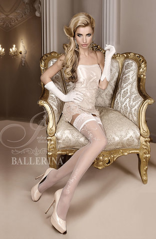 Ballerina 256 Hold Up Avorio (Ivory)