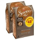 Douwe Egberts Senseo Dark Roast Coffee 48 Pads (Pack of 2, Total 96 Pads)
