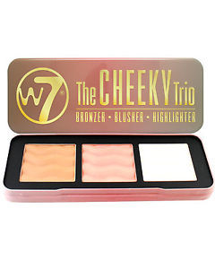 W7 The Cheeky Trio - Bronzer, Blusher, Highlighter