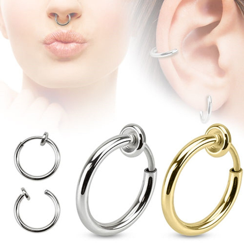 Fake septum ring 2-PACK