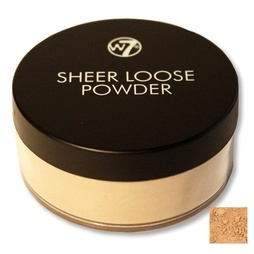 W7 Sheer Loose Powder, Biscuit