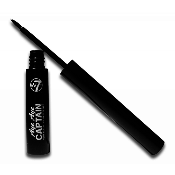 W7 AYE AYE CAPTAIN Very Black Liquid Dip Eyeliner