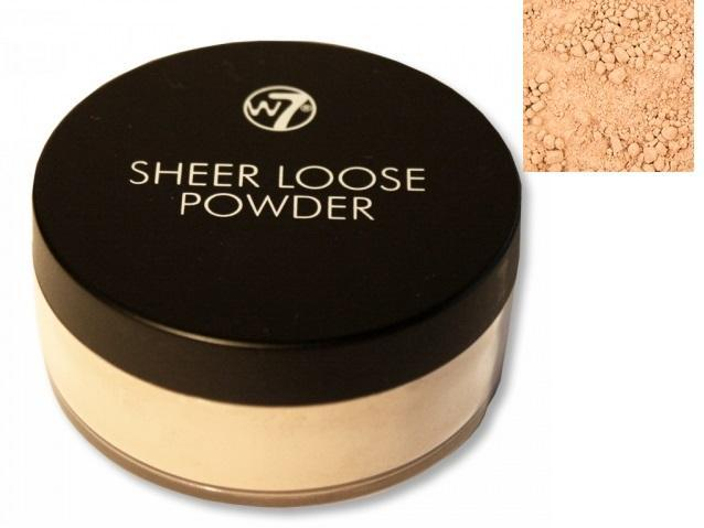 W7 Sheer Loose Powder, Ivory