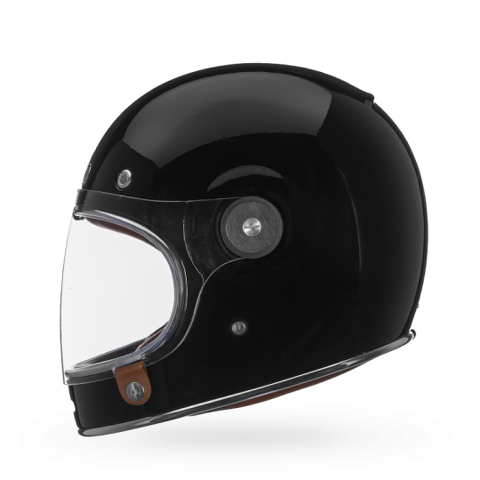 MC-hjälm Bell Bullit Solid Gloss Black.
