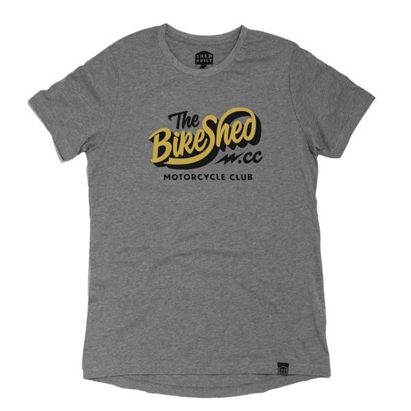 T-shirt BSMC BIke Shed Classic Grå