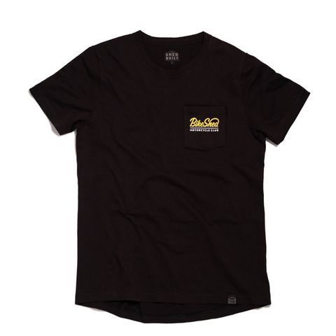 Pocket T-shirt BSMC Script Svart