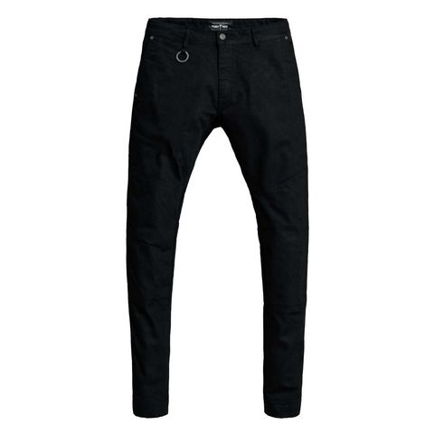 PANDO moto Chinos Mark Black (svarta).