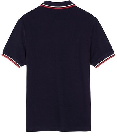 Fred Perry Twin Tipped FP Shirt Navy