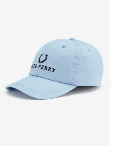 Fred Perry Tennis Cap Blue