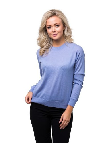 8design Classic Jumper Light Blue