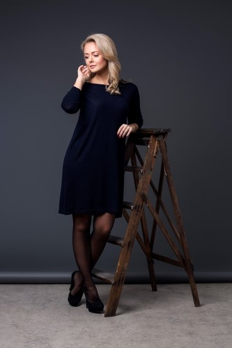 8design Dress Dark Blue