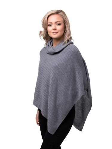 8design Polo Poncho Grey