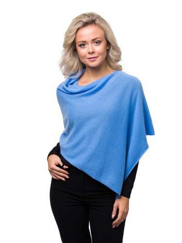 8design Small Poncho Season Blue