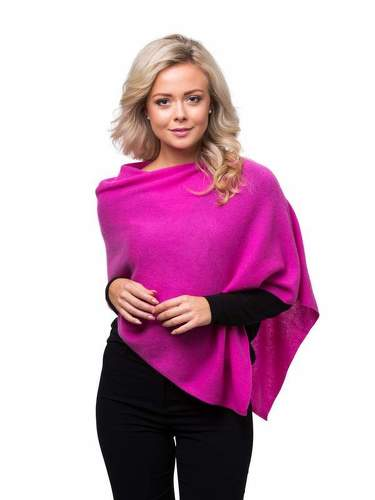 8design Small Poncho Strong Pink