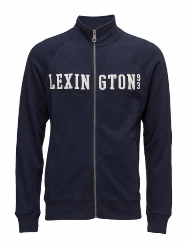 Lexington Christian Zip Cardigan Blå