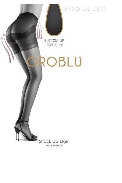 Oroblu Bottom Up Thighs 20 Svart